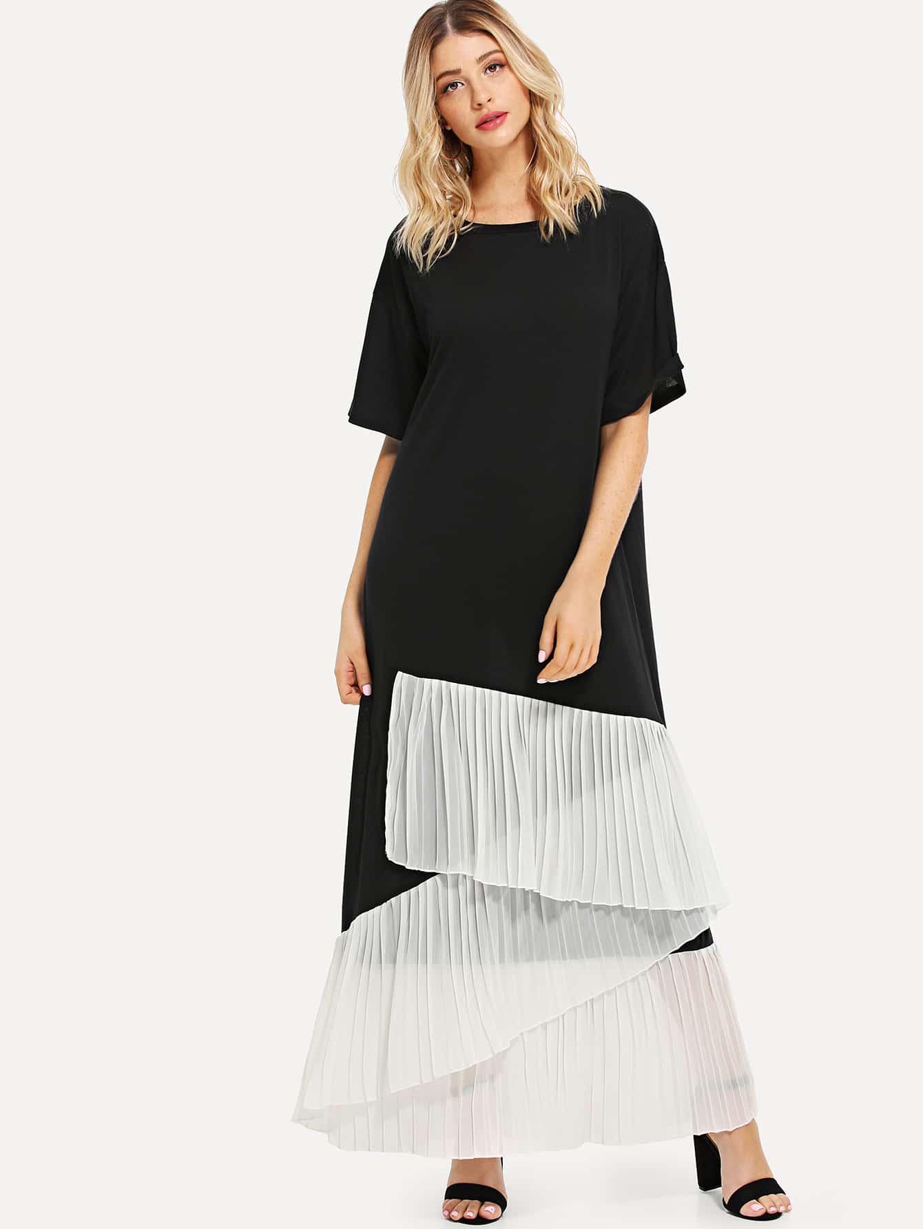 Купить Платье для триумфа Ruffle, null, SheIn