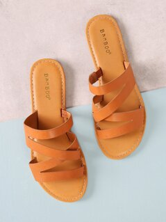 Strappy Slide Sandal