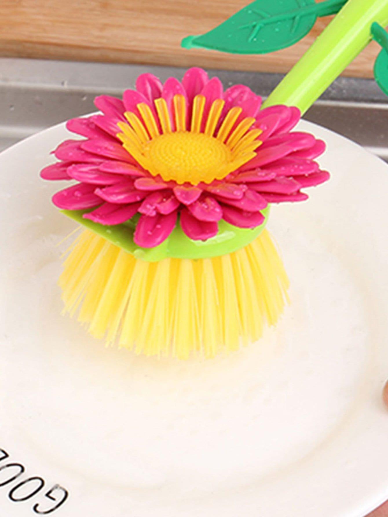 Sunflower Shaped Cleaning Brush