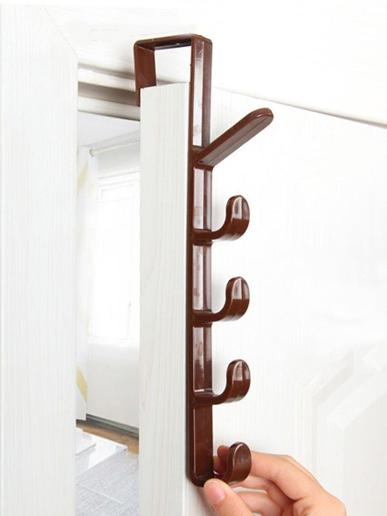 Over The Door 5 Hook Hanger [ fly eagle ]free shipping blue bird over door stainless steel hook holder hanger for kitchen