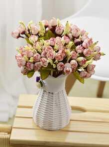 15pcs Rose Bud Artificial Bouquet