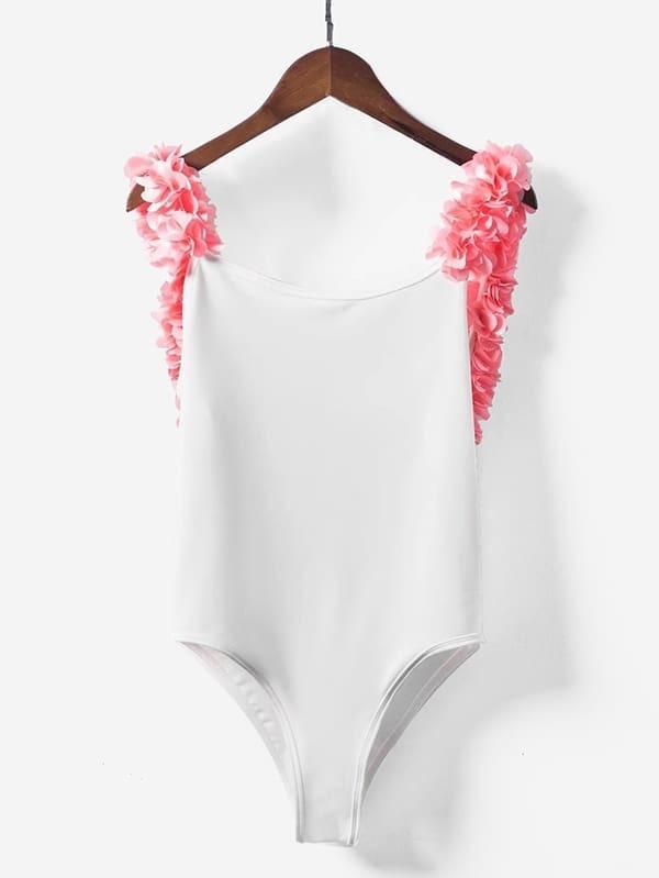 quality design 6cf85 78939 Badeanzug mit Stereo Blumen