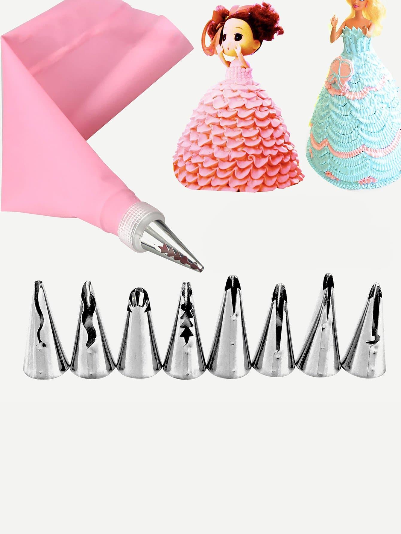 Piping Nozzle & Bag 10pcs free shipping 10pcs ba6998fp