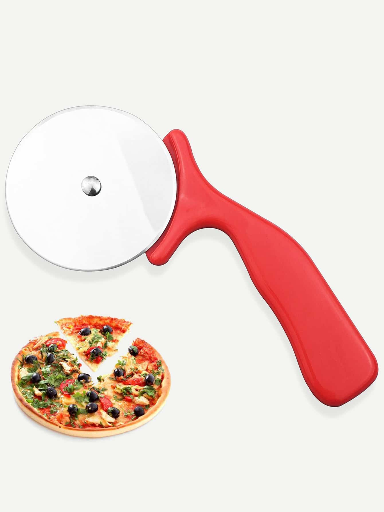 Stainless Steel Pizza Cutter stainless steel bicycle pizza cutter slicer wheel kitchen tool