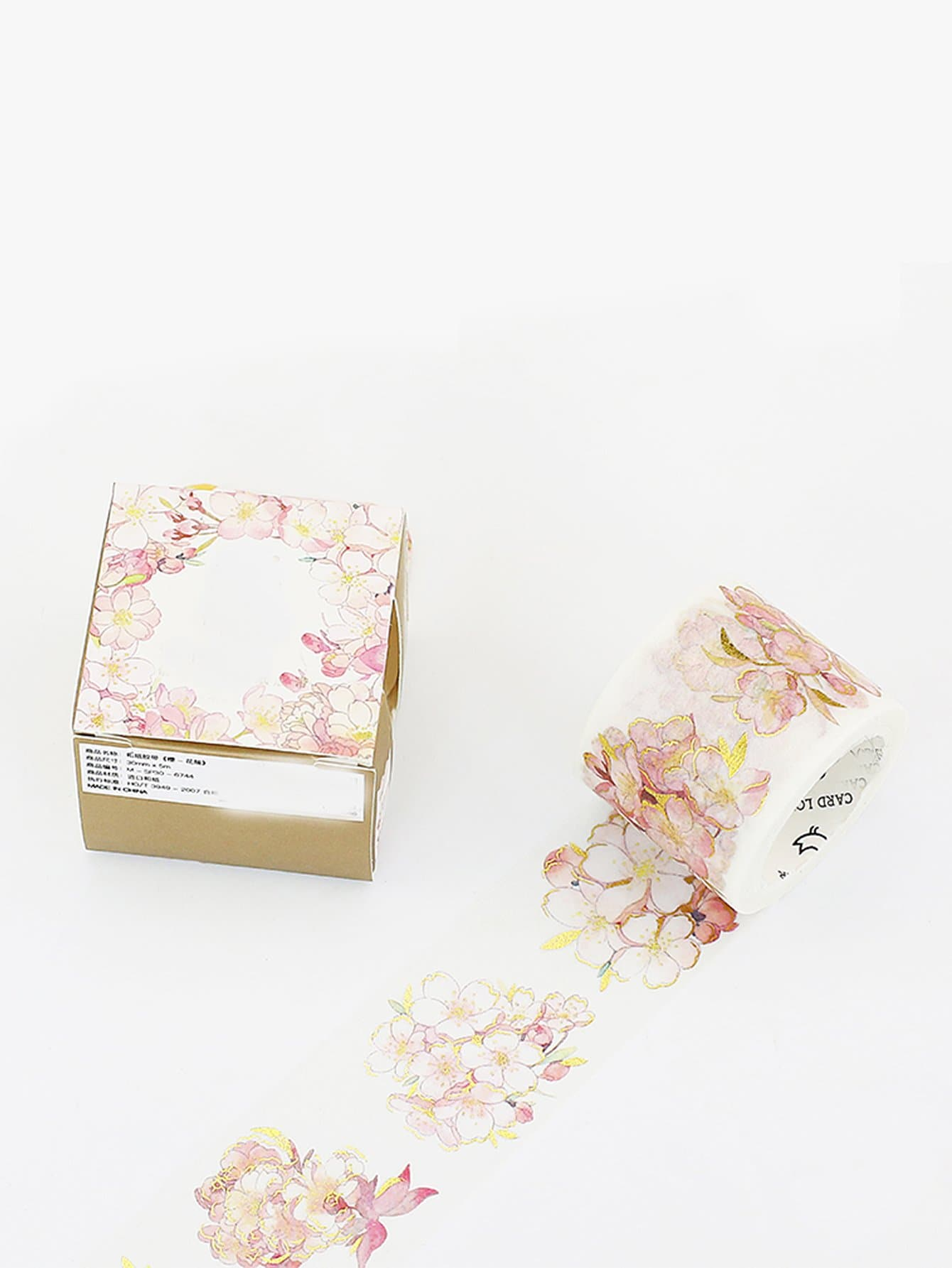 Flower Print Wide Masking Tape 1 5cm wide various mushroom collections washi tape diy scrapbooking sticker label masking tape school office supply