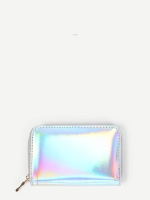 Iridescent PU Purse
