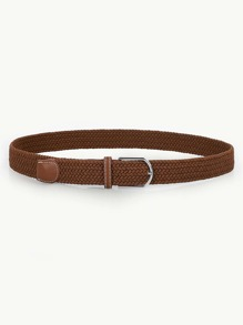 Buckle Design Woven Belt