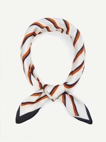 Striped Design Bandana Scarf