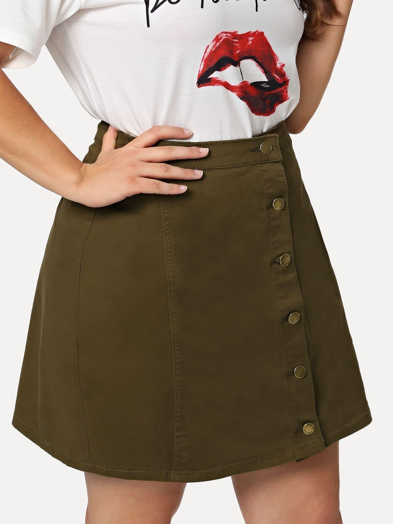 Button Up Denim Skirt button up tailcoat