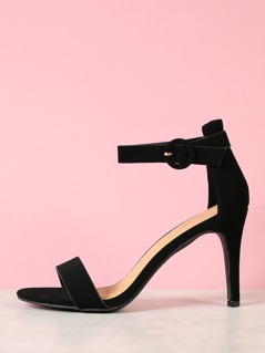 Ankle Cuff Single Band Stiletto Heel