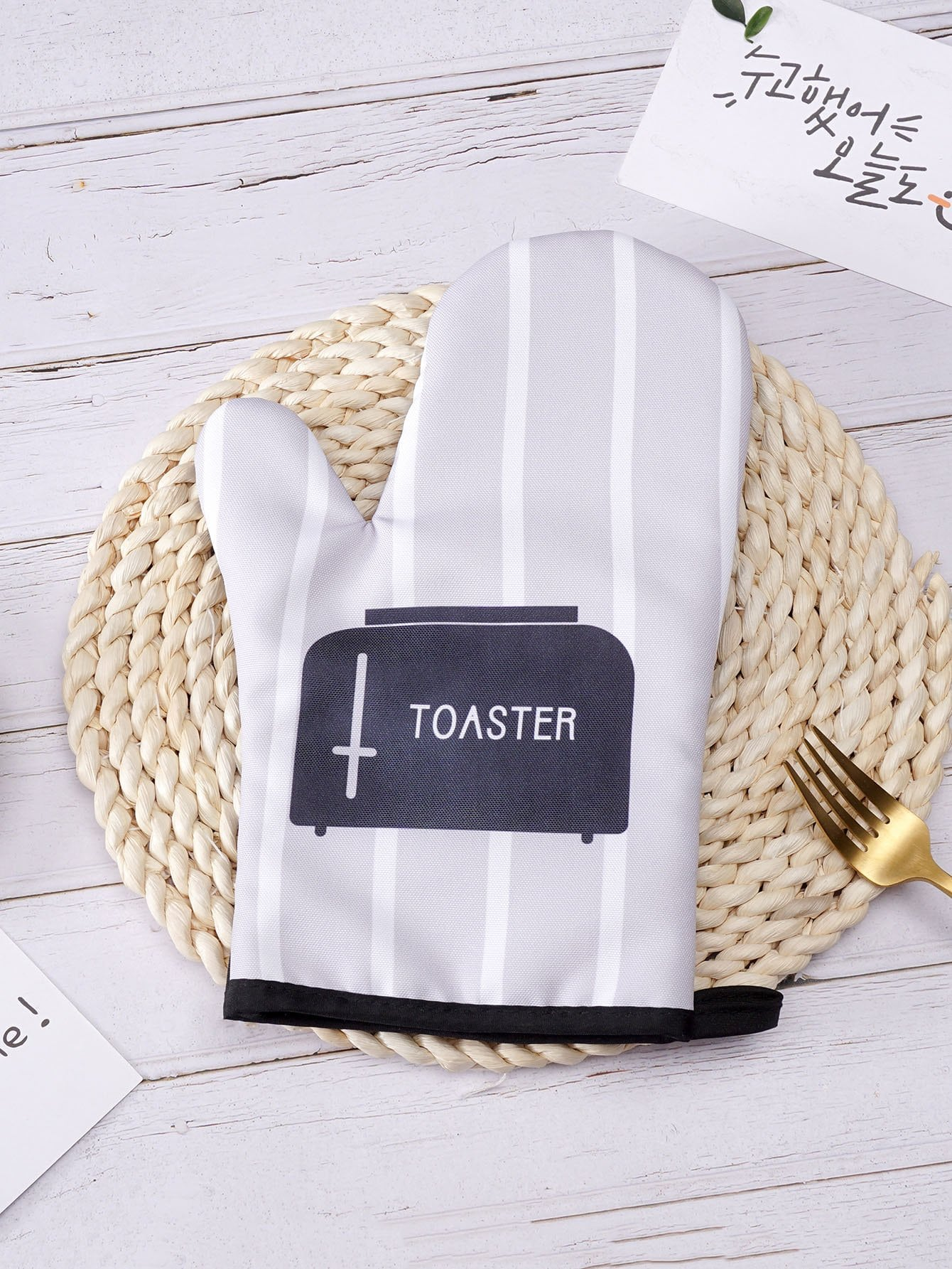 Toaster Print Oven Glove 1pc pe9500 9500wt toaster household automatic multifunction toaster ice cream