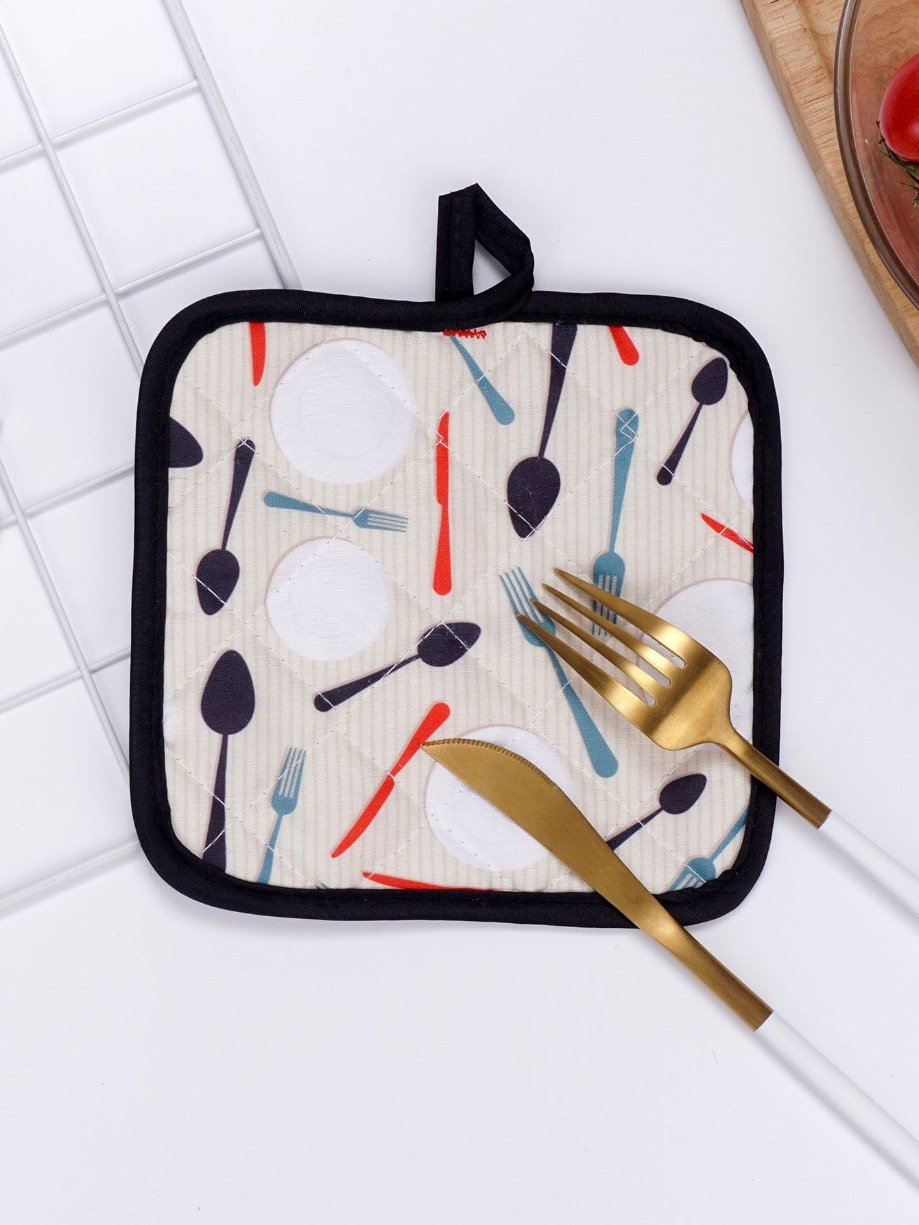 Cutlery Print Table Mat