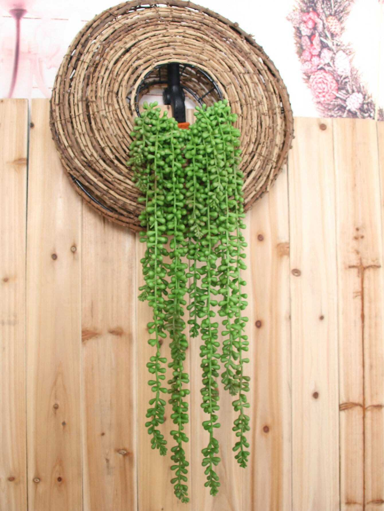 Artificial Hanging Plant 1pc With 5pcs Branches