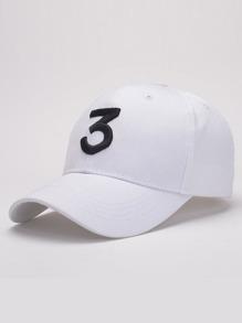 Embroidered Letter Baseball Cap