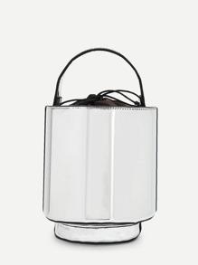 Piping Detail Bucket Bag