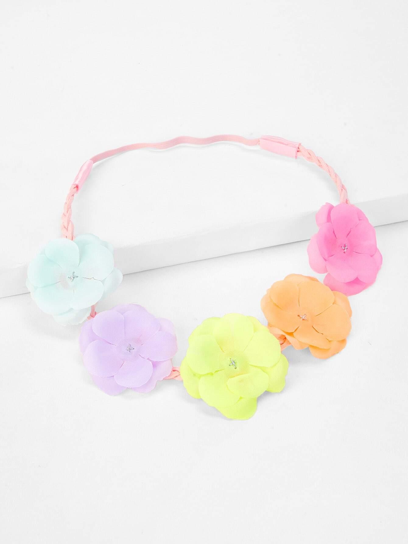 Купить Украшение на волосы для детей в цветочек, null, SheIn