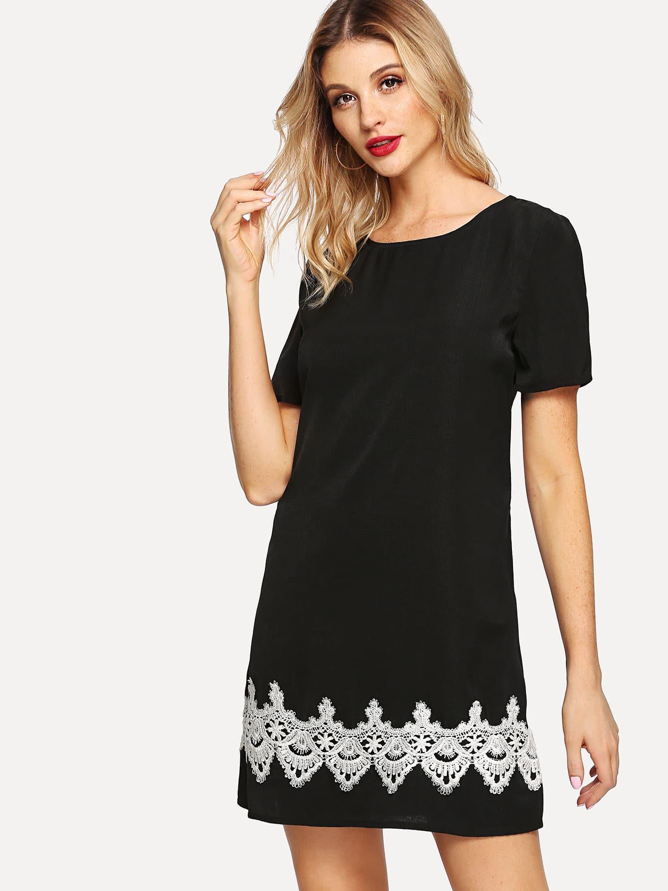Lace Appliques Short Sleeve Dress vestido de festa curto mini lace short homecoming dresses 2018 tulle appliques v шея бальное платье lace up 8 й класс формальные платья