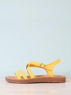 Strappy Sling Back Sandal