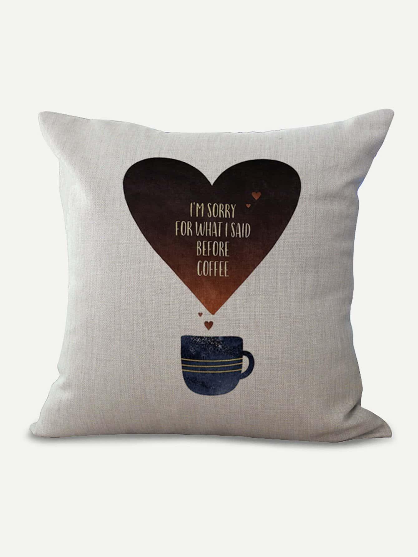 Купить Подушка для печати сердца, null, SheIn