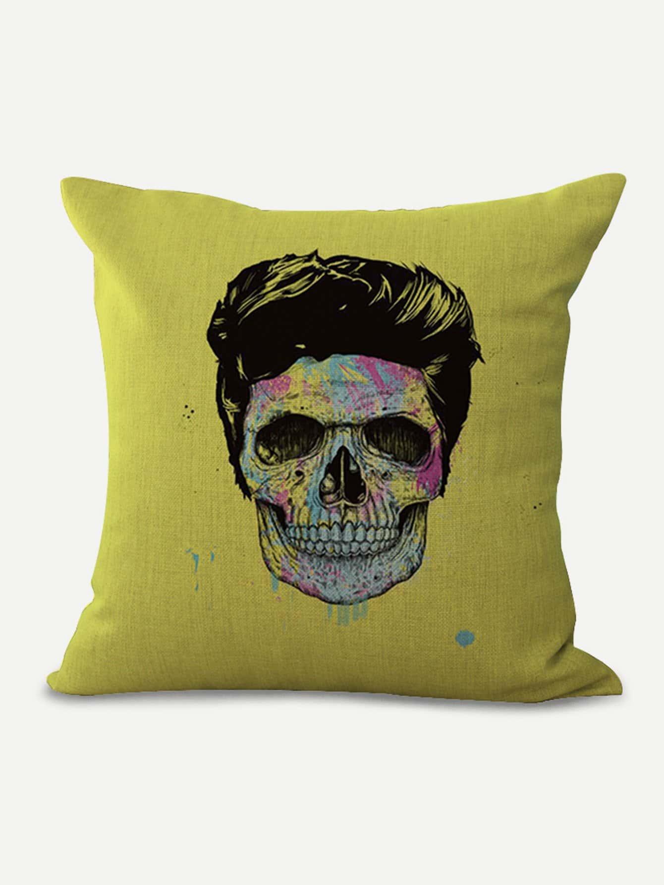 Купить Подушка для печати черепа, null, SheIn