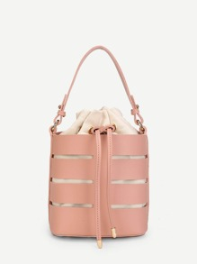 Bucket Bag With Inner Pouch