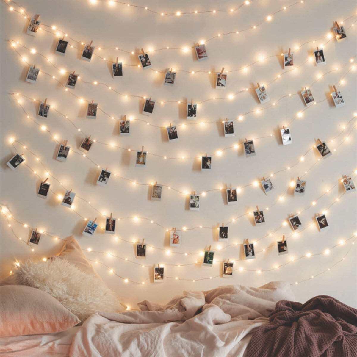Mini lichtsnoer met gloeilampjes