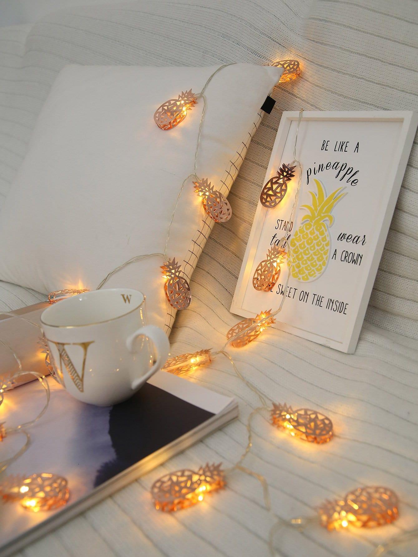 20pcs Pineapple Bulb String Light