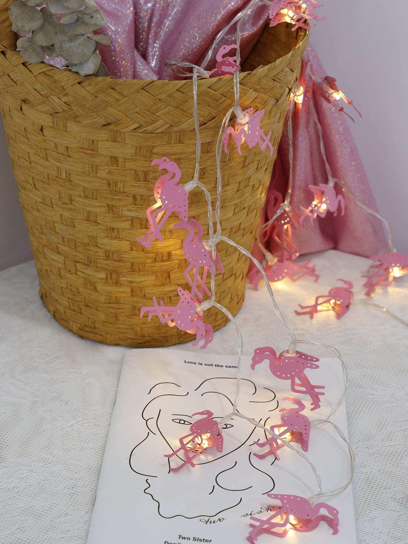20pcs Flamingo Bulb String Light