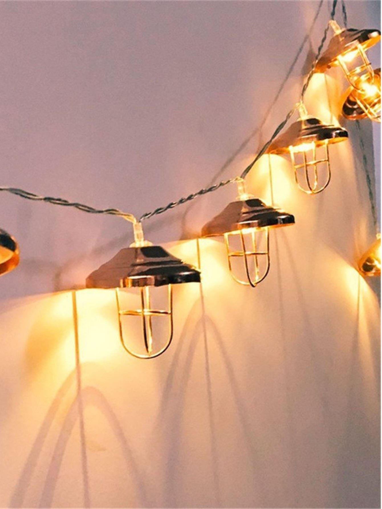 10pcs Lampshade String Light 20pcs mini pavilion lampshade string light