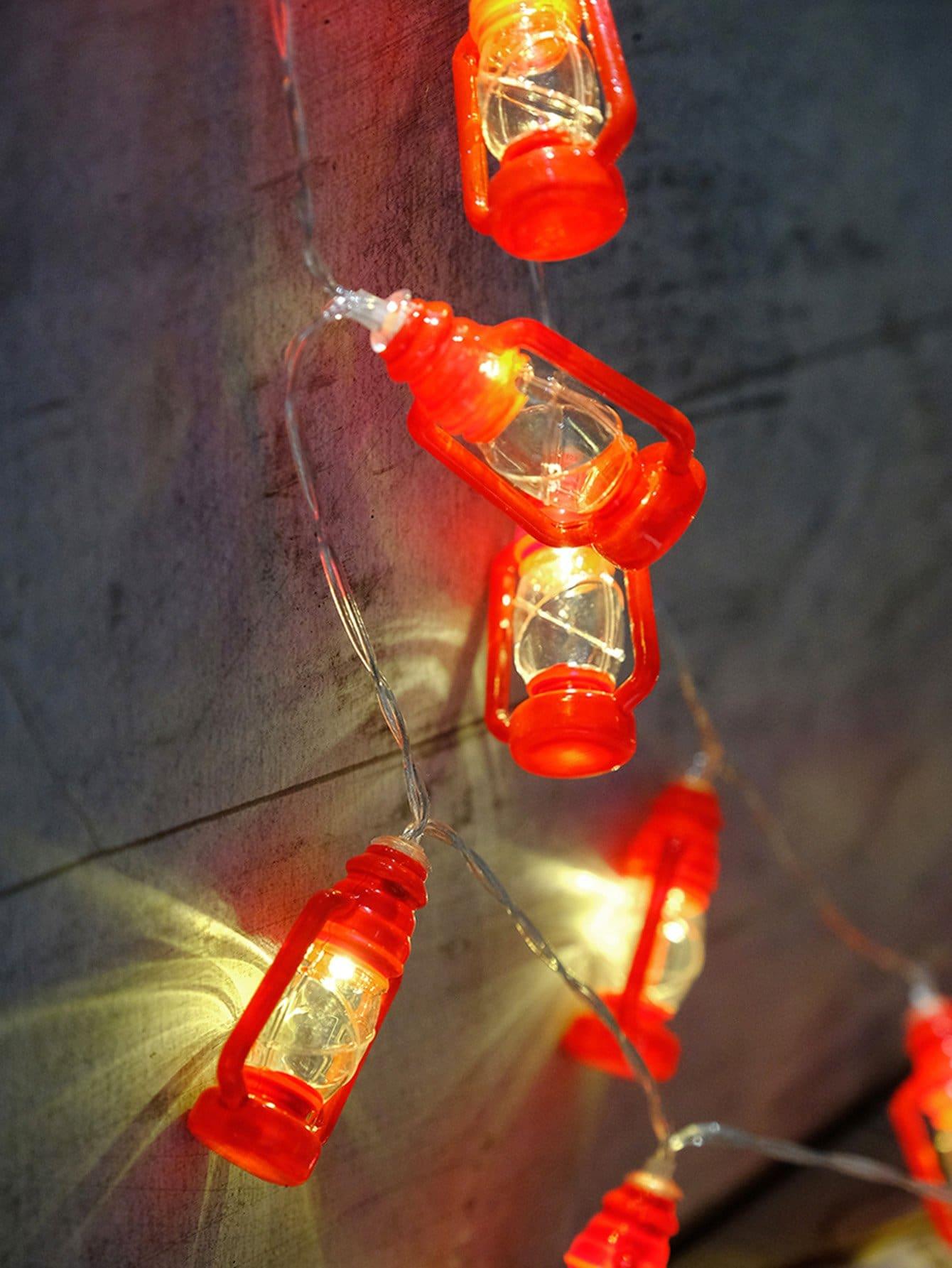 Mini Kerosene Lantern Bulb 20pcs String Light 20pcs mini pavilion lampshade string light