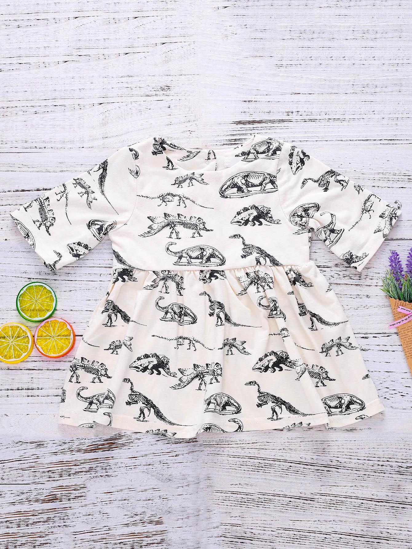 Dinosaur Print Dress игрушка good dinosaur 62006