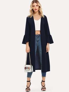 Bell Sleeve Duster Coat