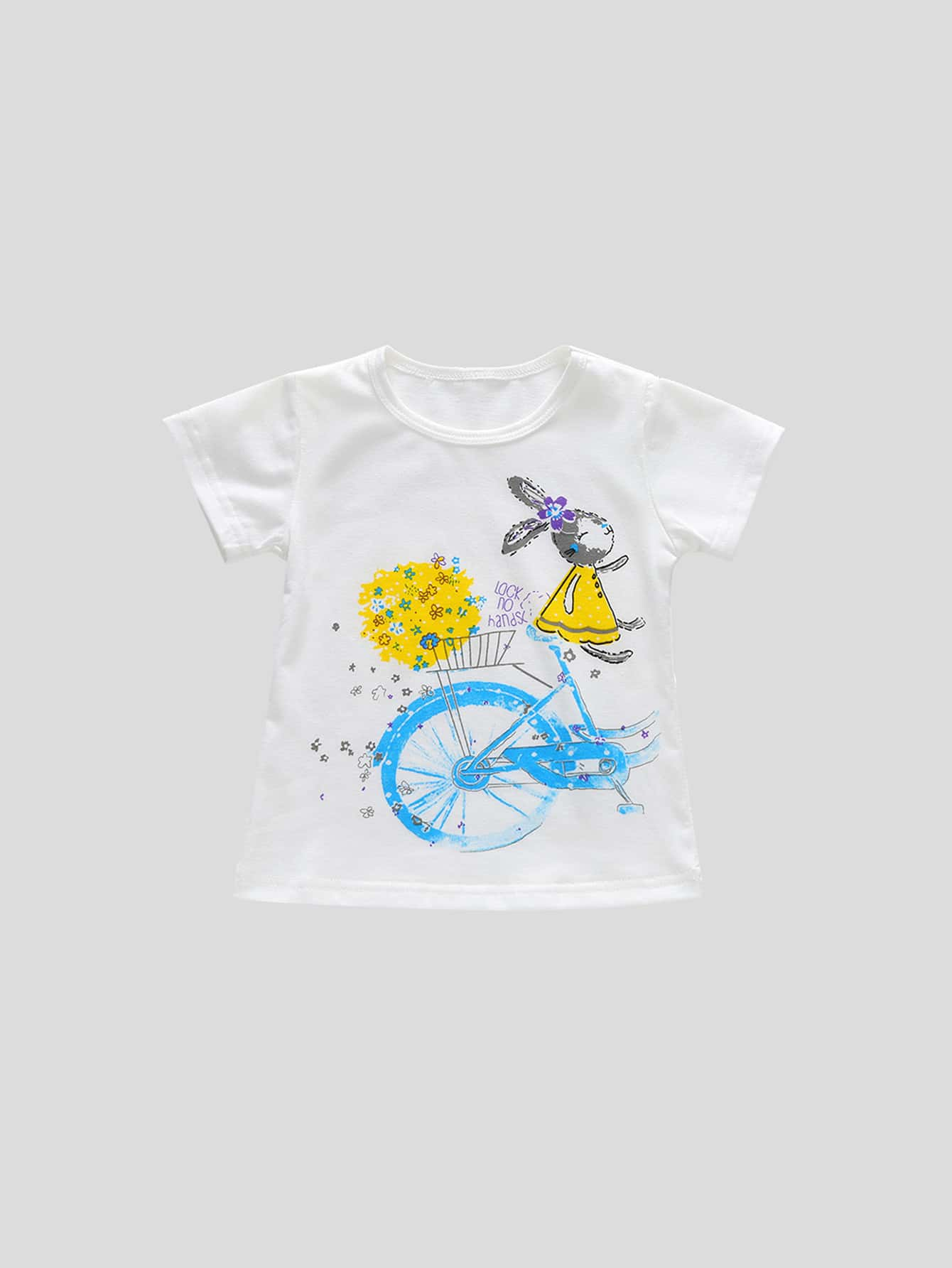 Тройник кролика для детей, null, SheIn  - купить со скидкой