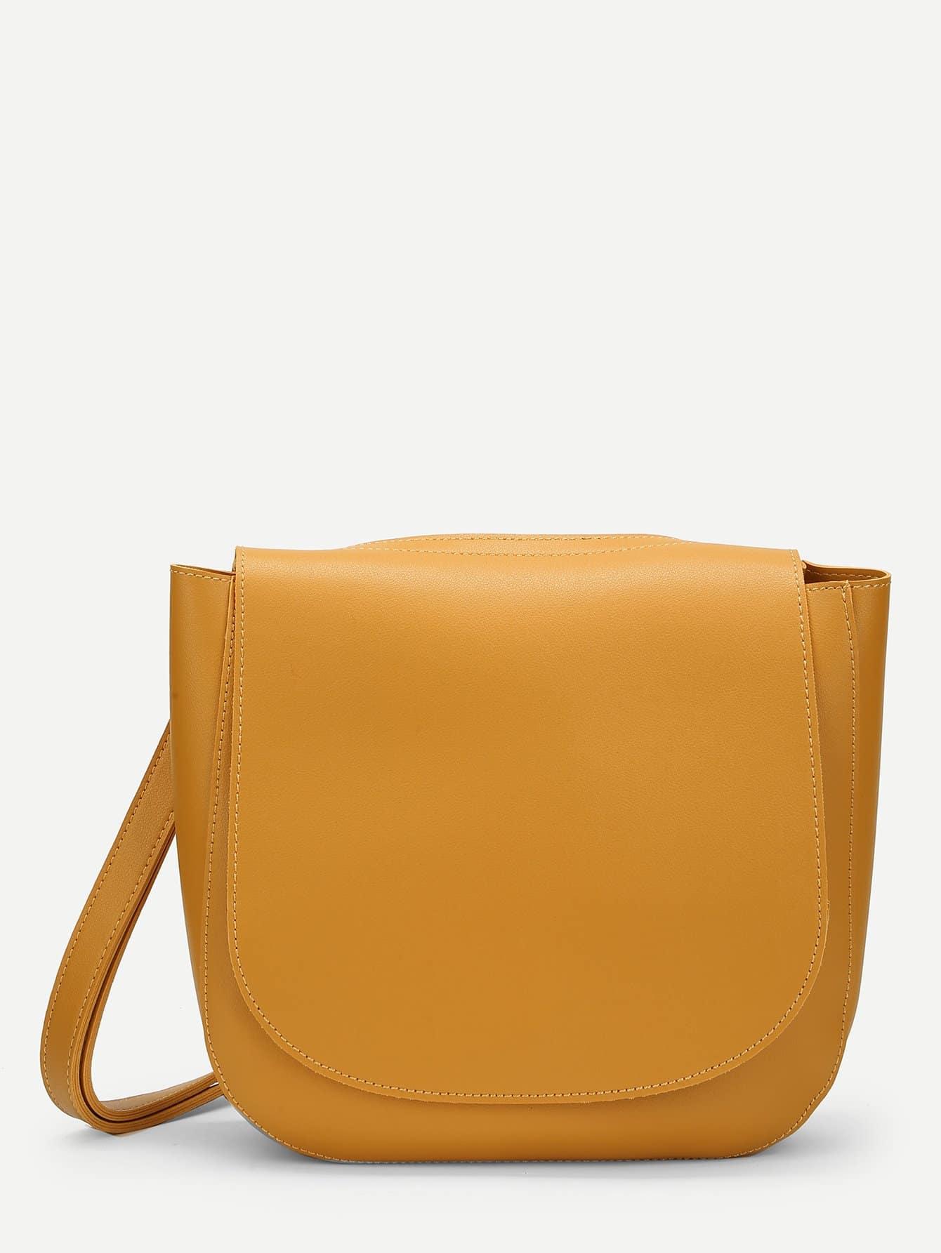 PU Flap Crossbody Bag pu crossbody flap bag