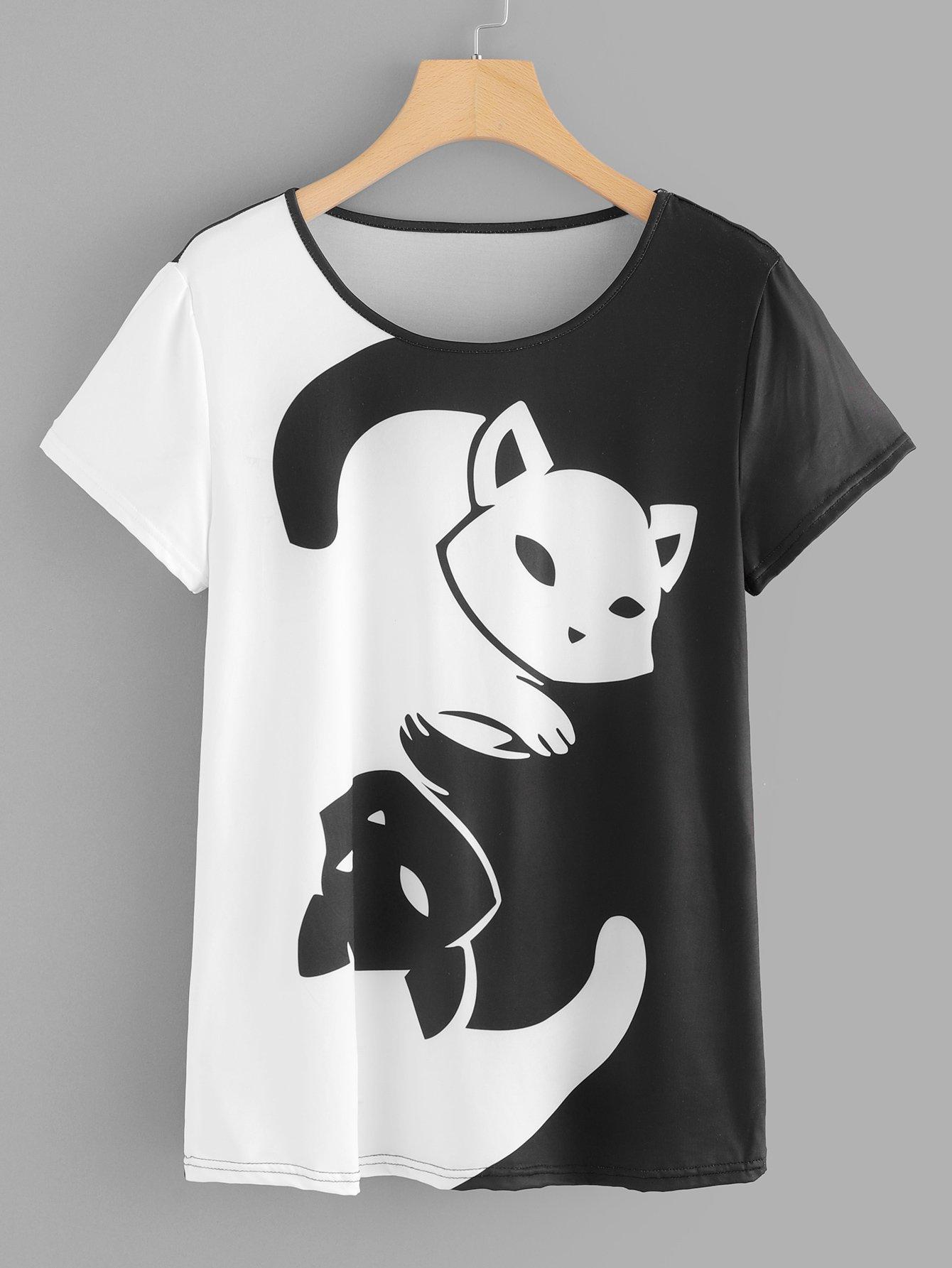 Animal Print T-shirt beautify professional smal black animal print aluminium t beauty box cosmetics