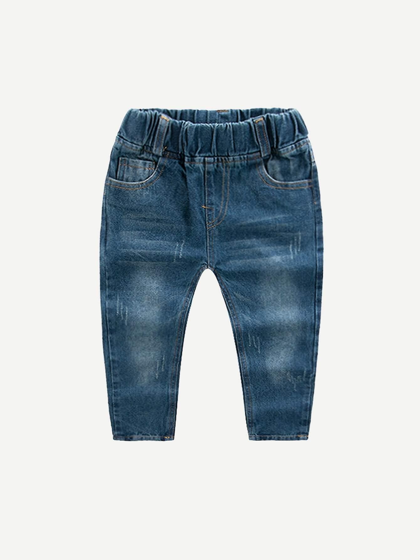 Boys Roll Hem Jeans цена 2017