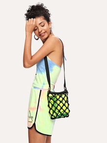 Net Bag With Inner Pouch