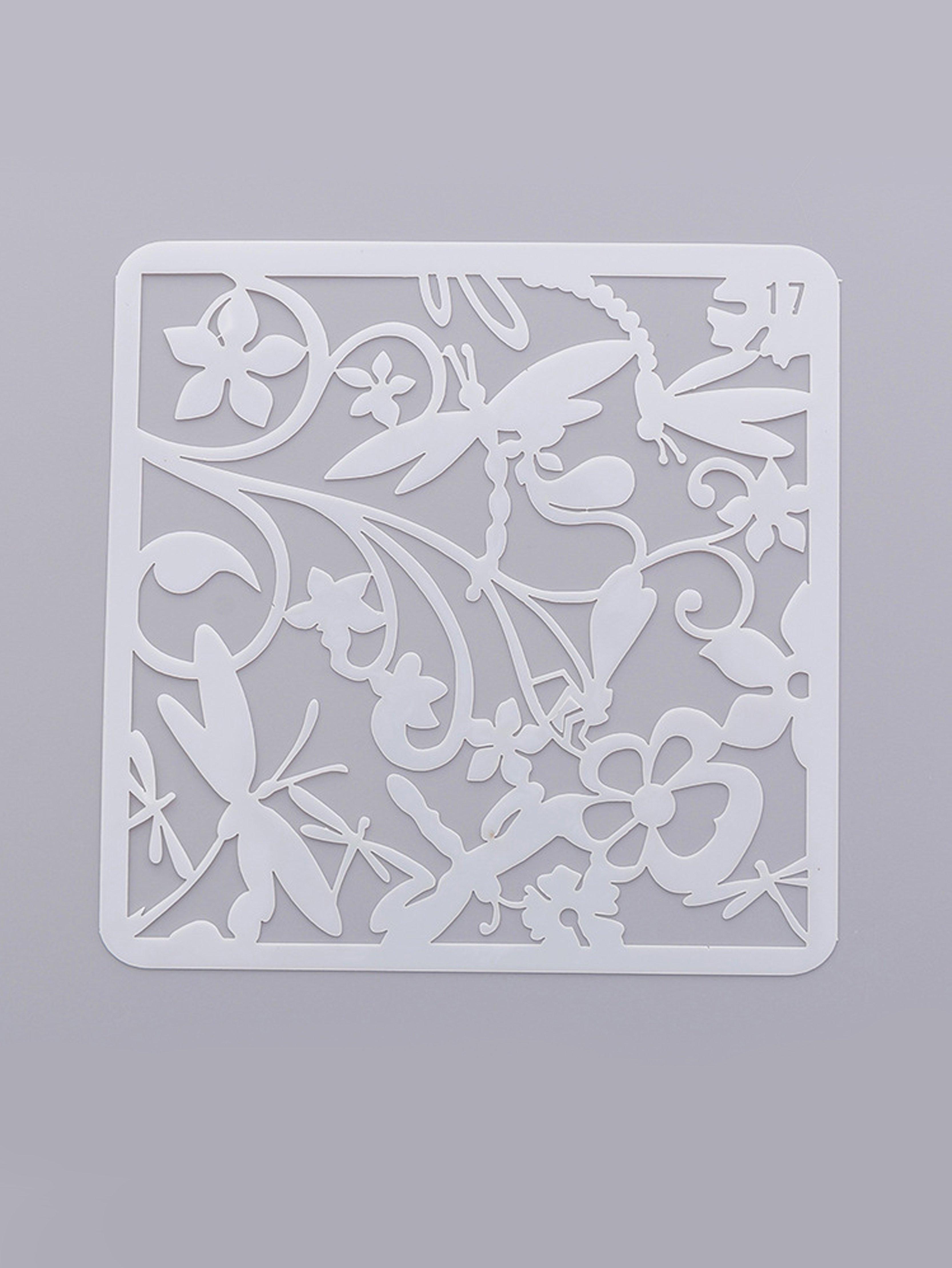 Купить Трафарет для рисования рисунков стрекозы, null, SheIn