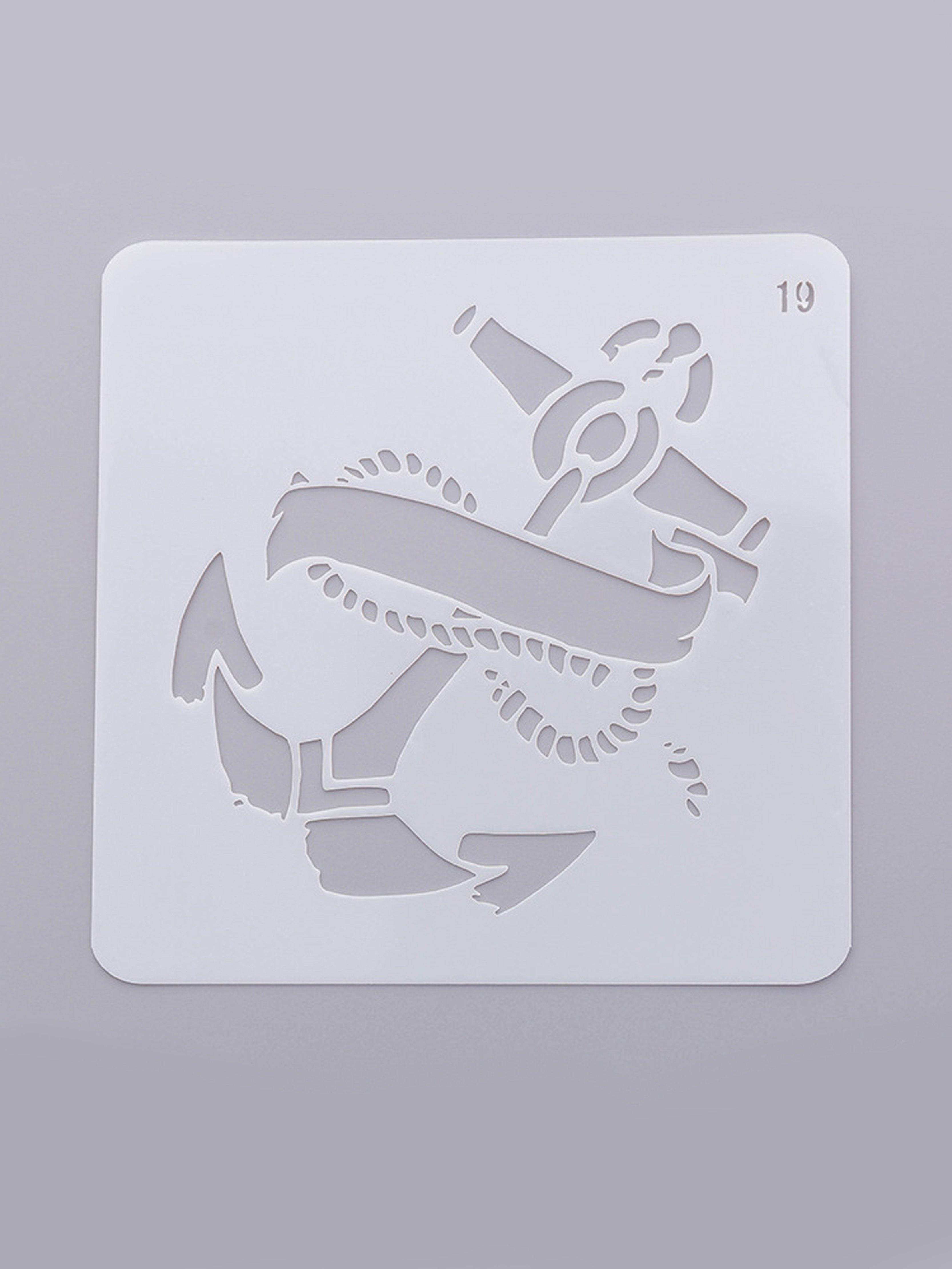 Купить Трафарет для рисования анкеров, null, SheIn
