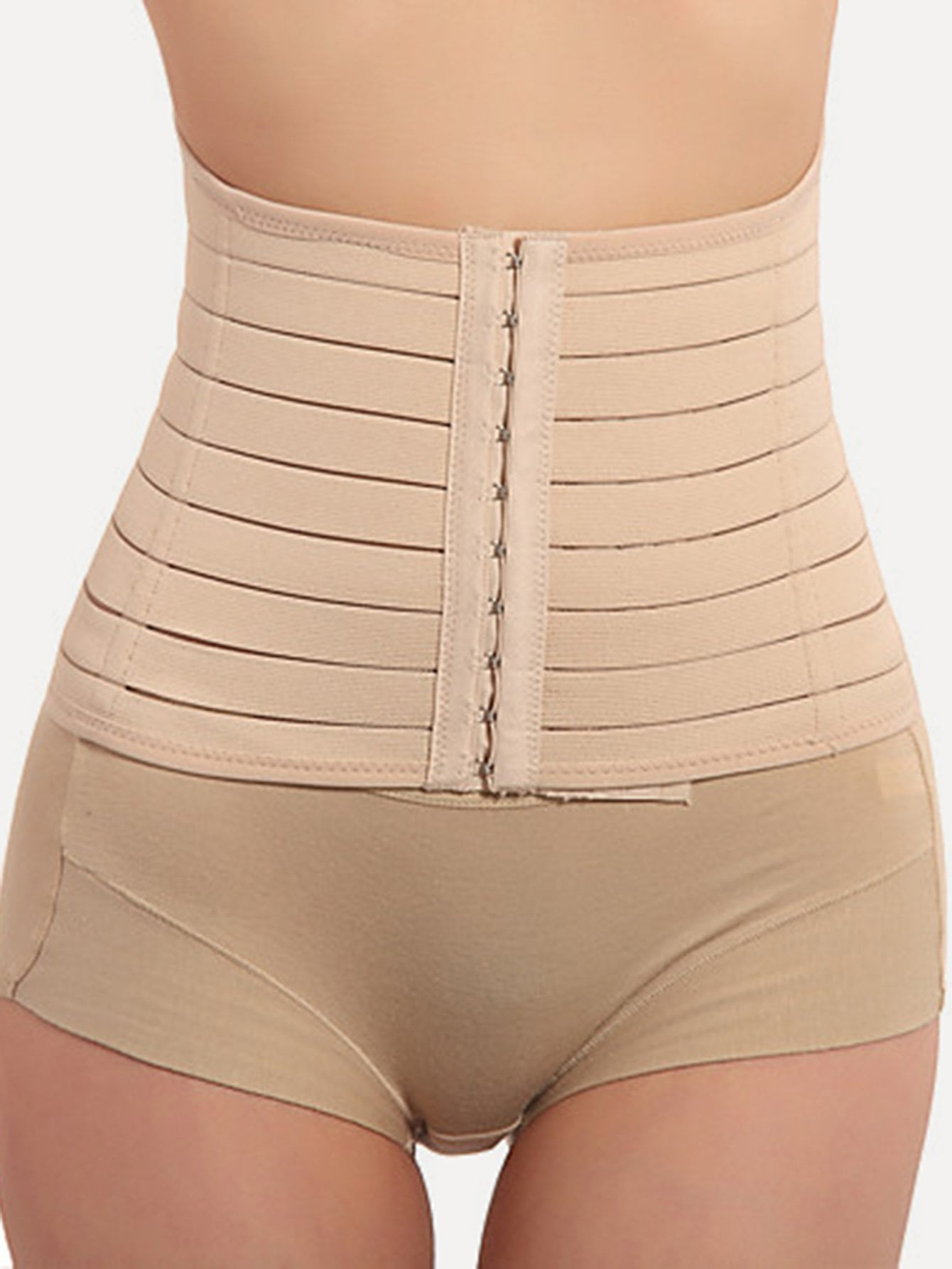 Hook Front Corset Shapewear zipper shapewear corset