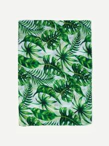 Palm Print Scarf