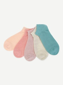 Plain Invisible Socks 5pairs