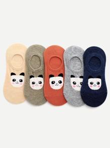 Bear Ankle Socks 5pairs