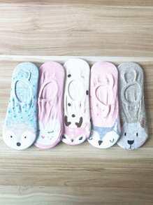 Animal Pattern Socks 5pairs