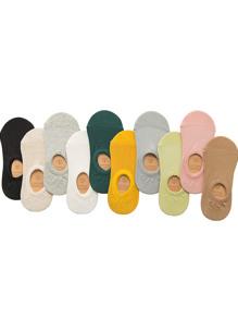 Plain Invisible Socks 10pairs