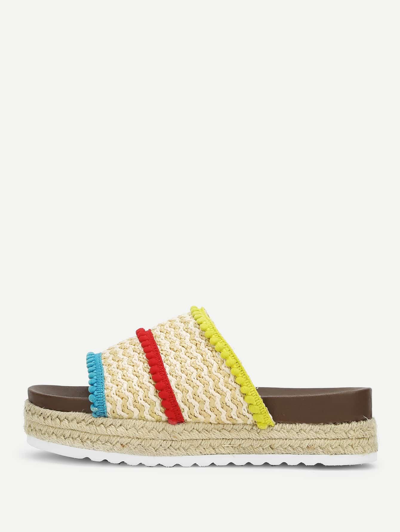 Peep Toe Flatform Sandals бордюр impronta ceramiche square wall bacchetta graffio oro 2x75