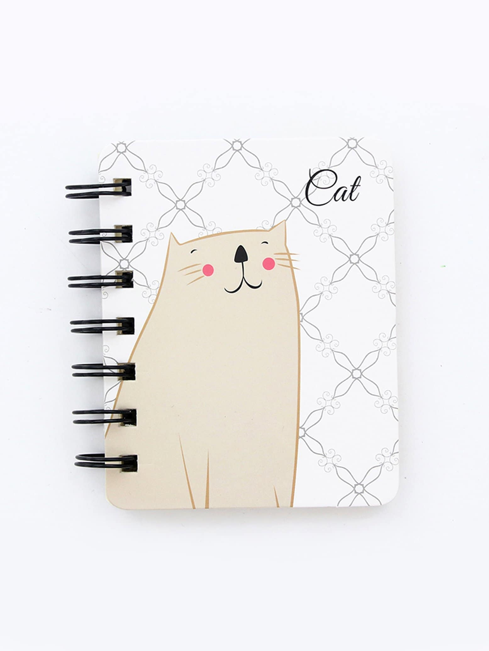 Cat Cover Spiral Notebook 80sheets