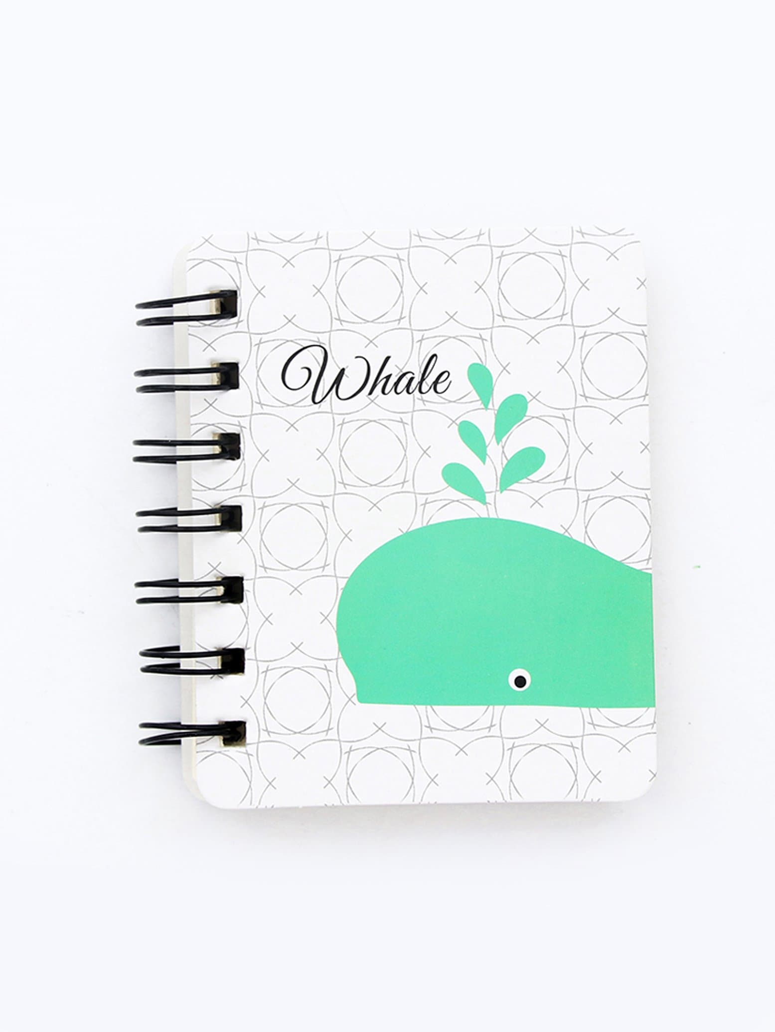 Whale Cover Spiral Notebook 80sheets
