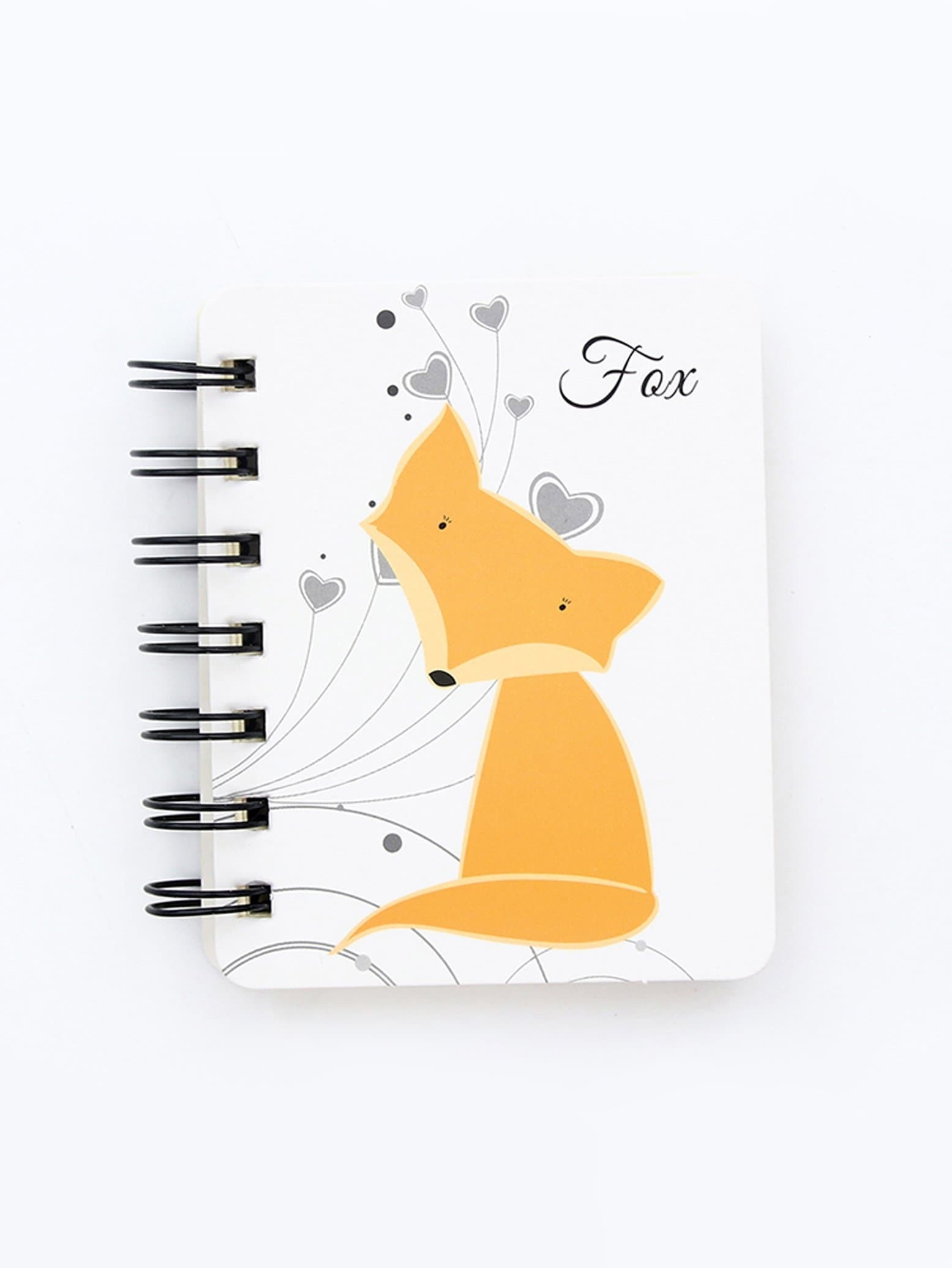 Fox Cover Spiral Notebook 80sheets