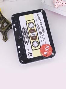 Magnetic Tape Shaped Tin Box
